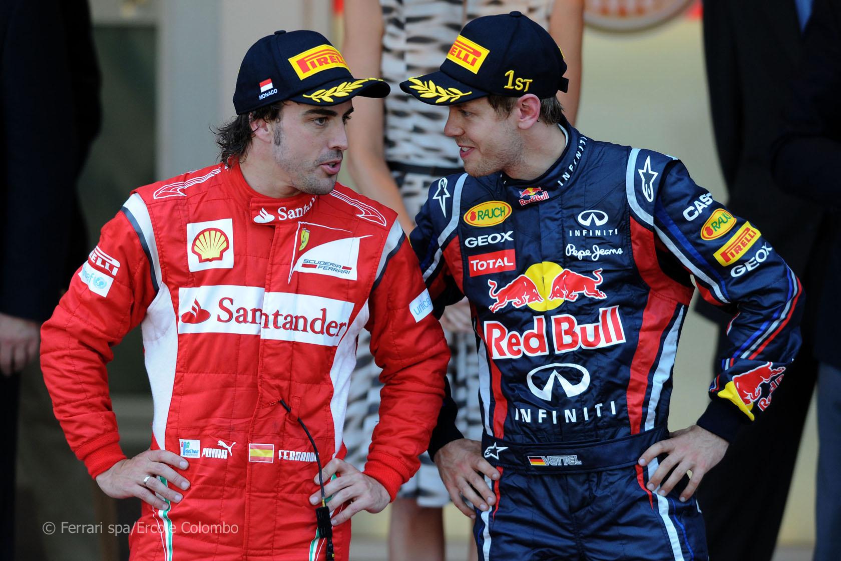 Fernando Alonso - Sebastian Vettel