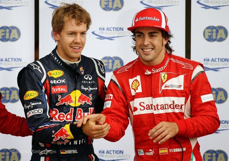 Sebastian Vettel - Fernando Alonso