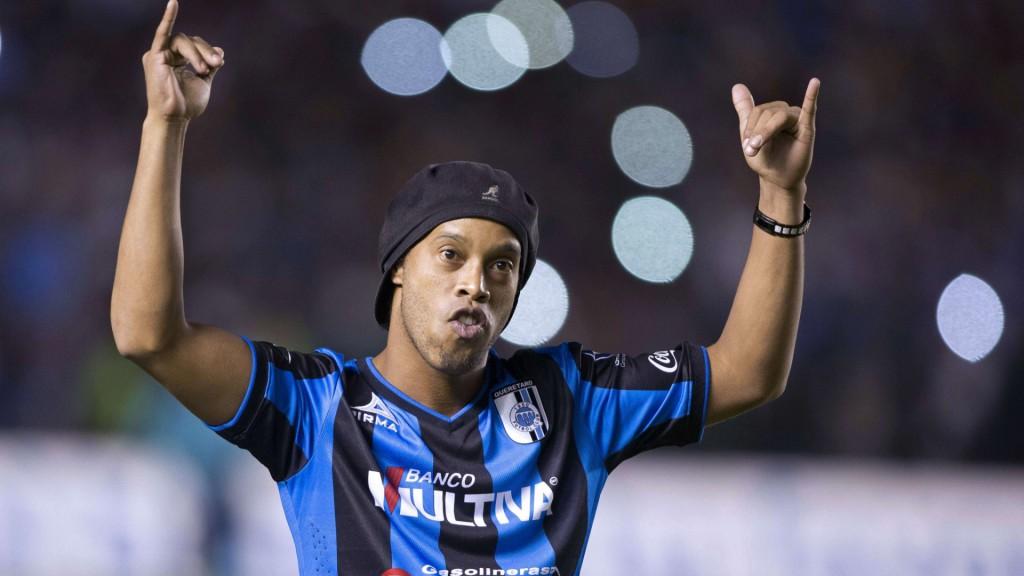 Ronaldinho (Querétaro FC - Mexique)