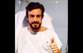 Fernando Alonso à l'hôpital