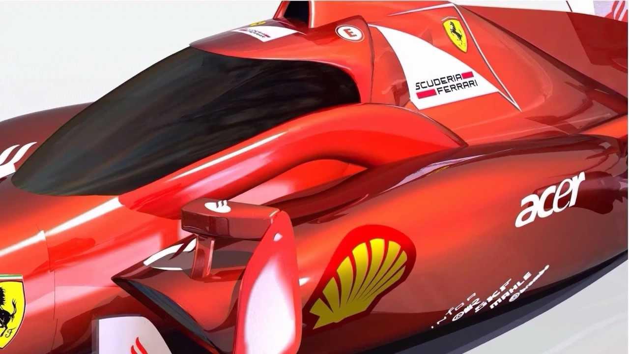 Ferrari a dévoilé le visuel d'une Formule 1 new-look