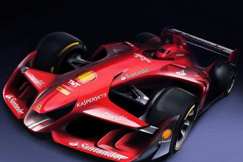 La New Ferrari