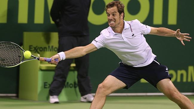Richard Gasquet a abandonné contre Roger Federer