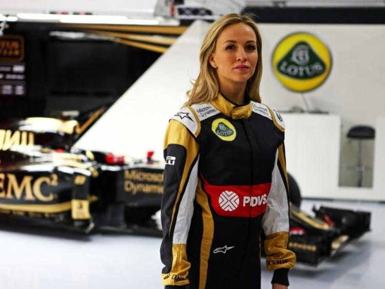 Carmen Jorda - Lotus F1 Team