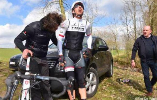 Fabian Cancellara blessé