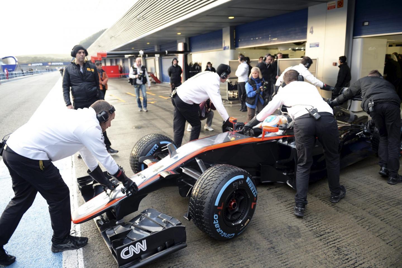 L'écurie McLaren-Honda fait part de l'absence d'Alonso