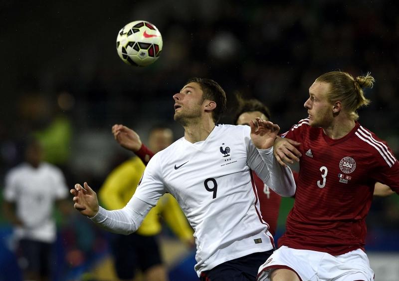 La France l'emporte sur le Danemark