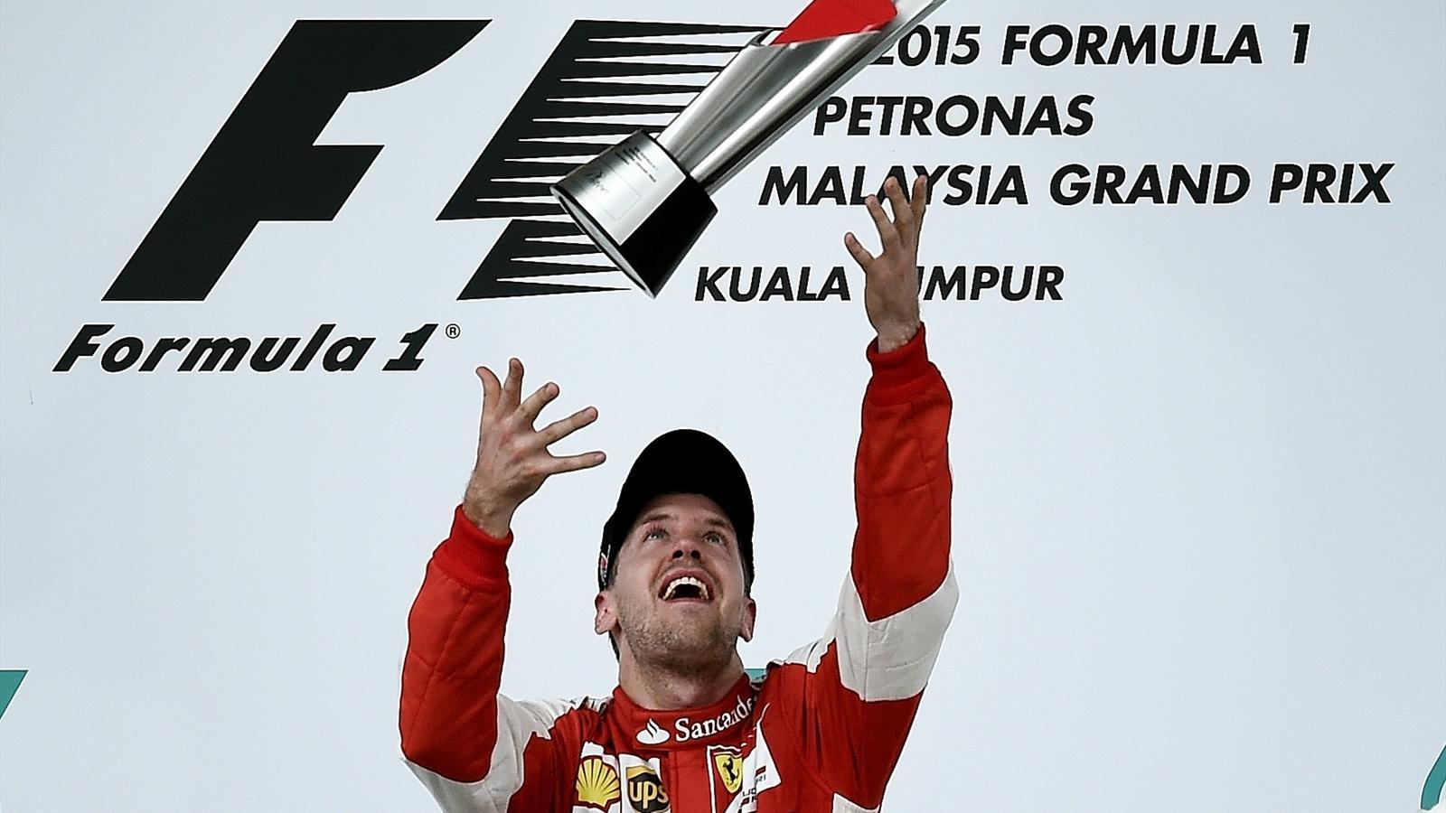 La victoire de Sebastian Vettel