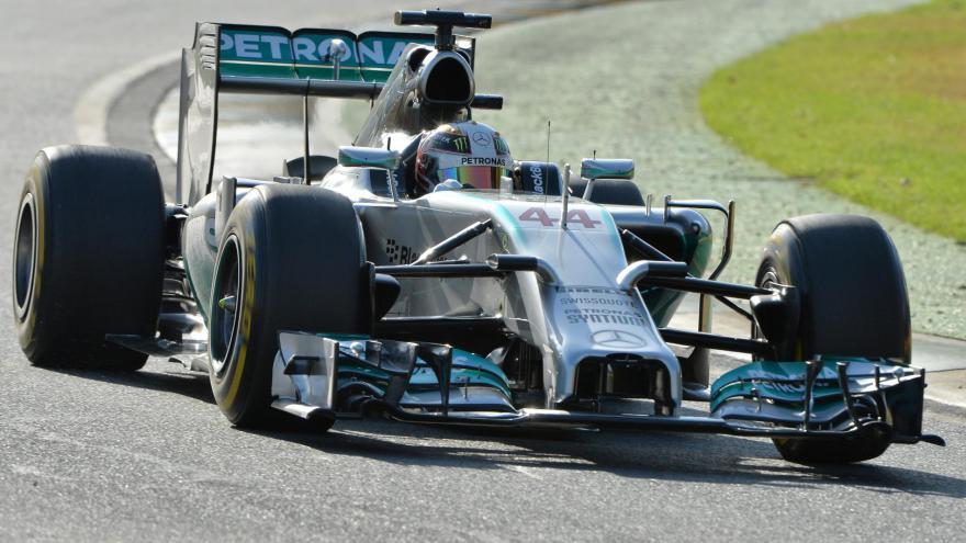 Lewis Hamilton Grand Prix d'Australie