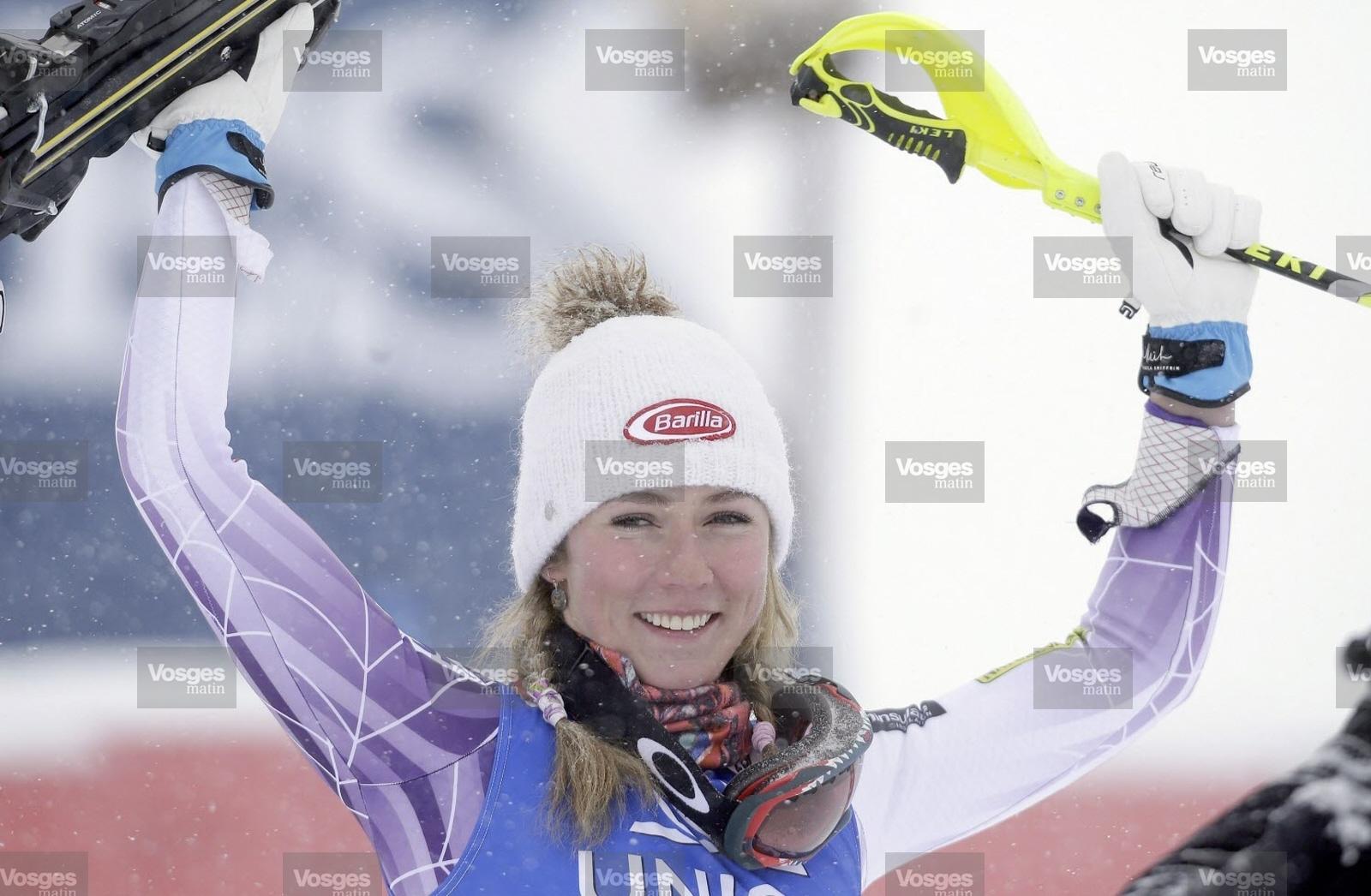 Mikaela Shiffrin remporte la Coupe du monde de ski alpin