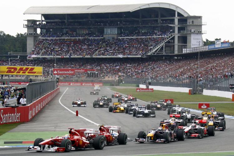 Pas de Grand Prix sur le circuit Hockenheim cette année