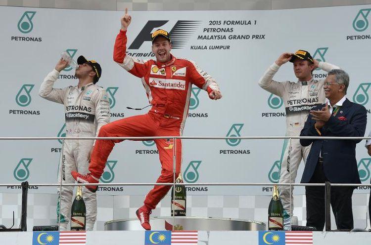 Sebastian Vettel a remporté le Grand Prix de MalaisieSebastian Vettel a remporté le Grand Prix de Malaisie