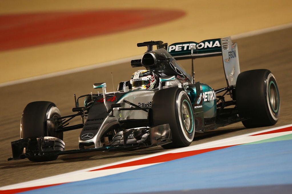 Grand Prix de Bahreïn, Lewis Hamilton