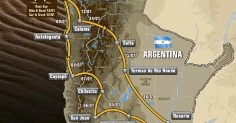 Le Chili ne fait pas partie du parcours 2016