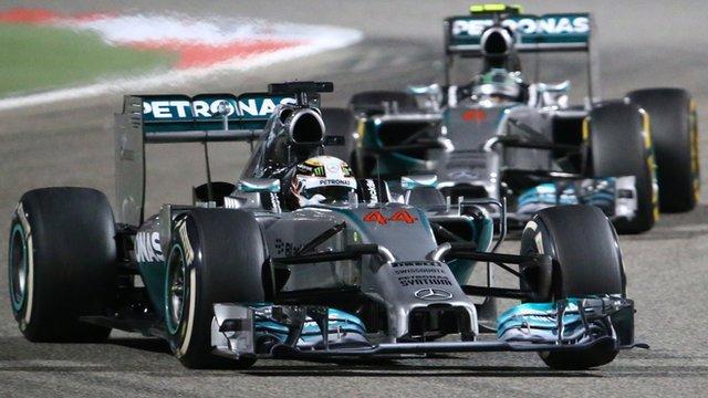 Lewis Hamilton en pole position