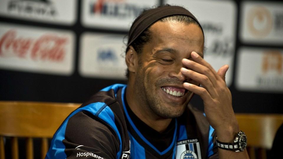 Ronaldinho ne quittera pas le club mexicain de Queretaro