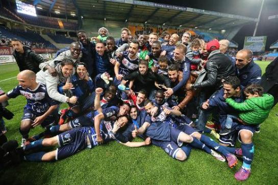 Troyes revient en ligue 1