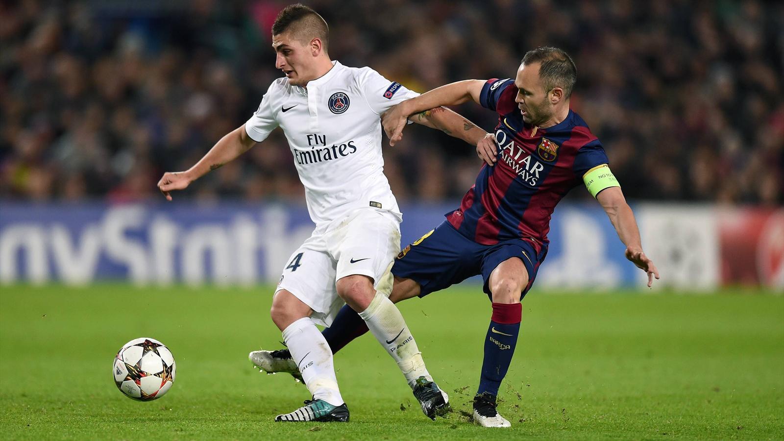 Quart de finale de Ligue des Champions PSG Barça