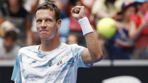 Demie finale du Master 1000 de Madrid Tomas Berdych s'oppose à Rafael Nadal