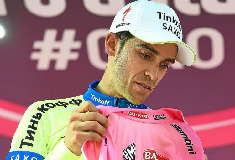 GIRO 2015 : Contador blessé et porteur du maillot rose et la 7ème étape pour Ulissi