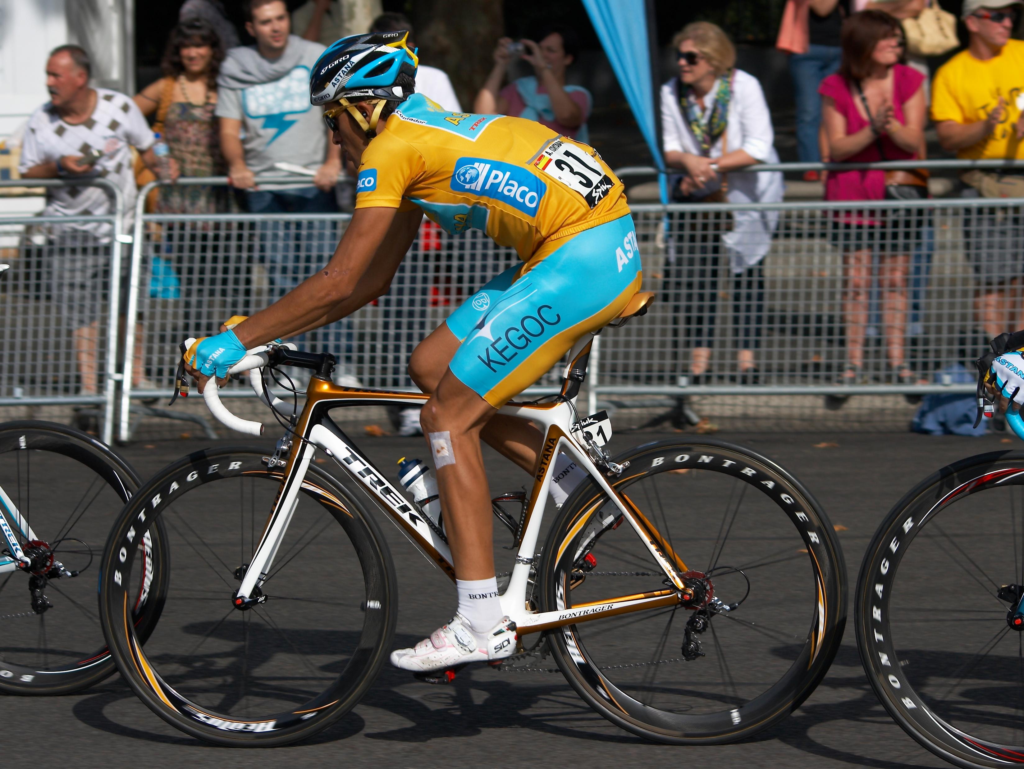 Giro 2015 Alberto Contador déterminé malgré sa douleur