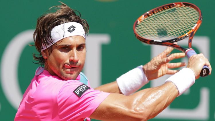 Huitieme De Finale Du Master 1000 De Rome : Guillermo Garcia-Lopez  - David Ferrer