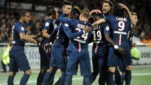 Le PSG Champion de France pour la troisième fois