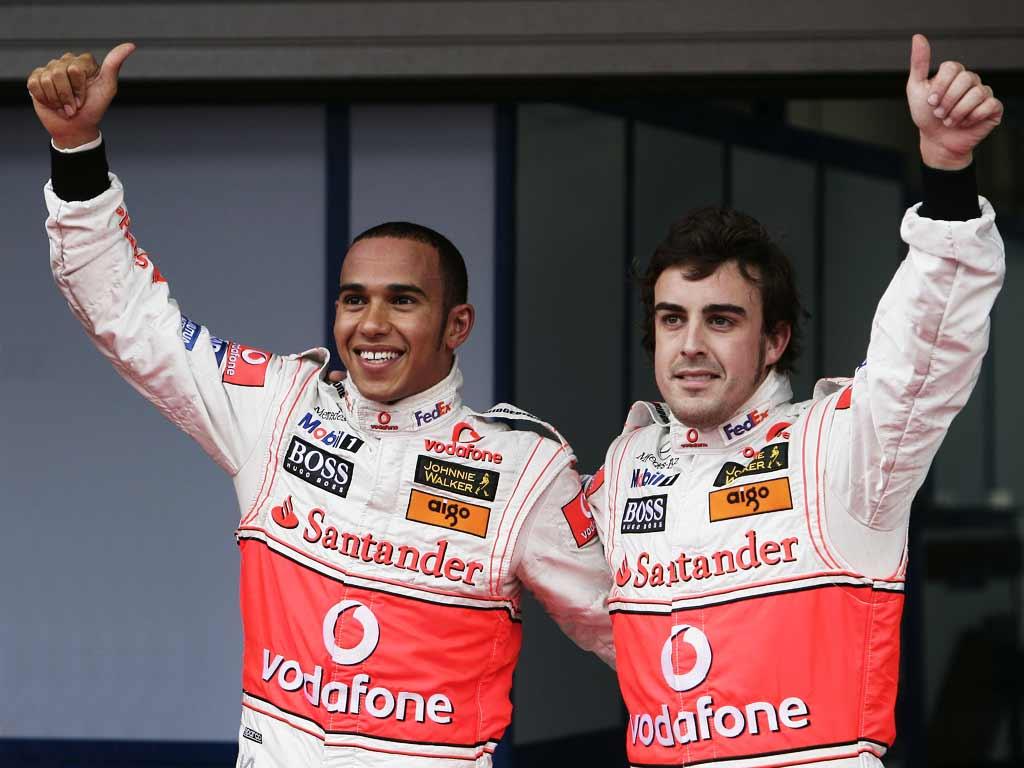 Lewis Hamilton : Fernando Alonso est aussi talentueux que Michael Schumacher