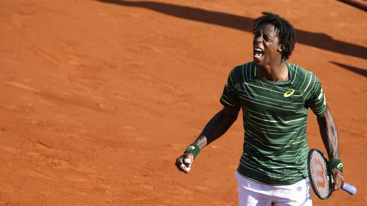Roland Garros 2015 - Gaël Monfils vs Roger Federer