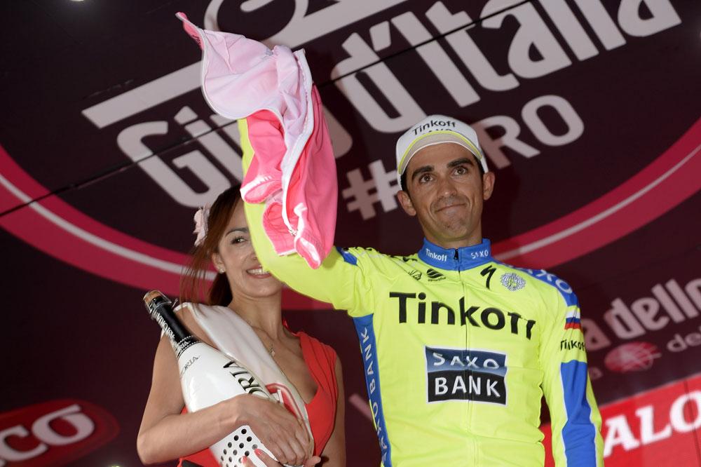 Giro 2015 : Alberto Contador déterminé malgré sa douleur