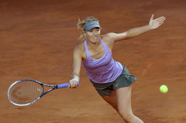 Open Rome : Maria Sharapova écrase Carla Suarez Navarro