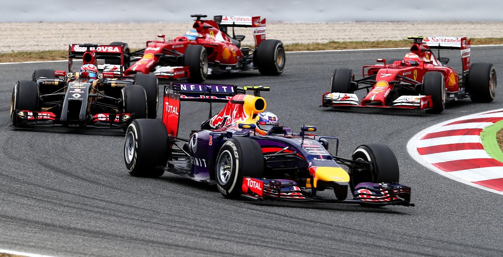 Grille de départ du Grand Prix Formule 1 d'Autriche