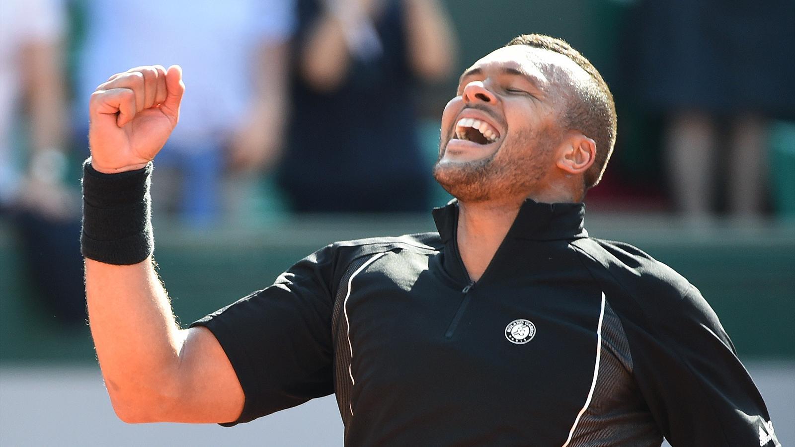 Jo Wilfried Tsonga - Roland Garros 2015