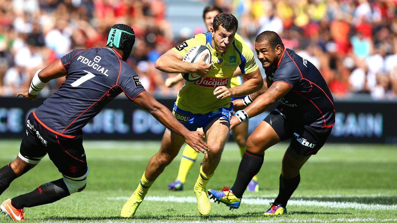 Rugby Top 14: ASM Clermont - Stade Toulousain pour les demi-finales