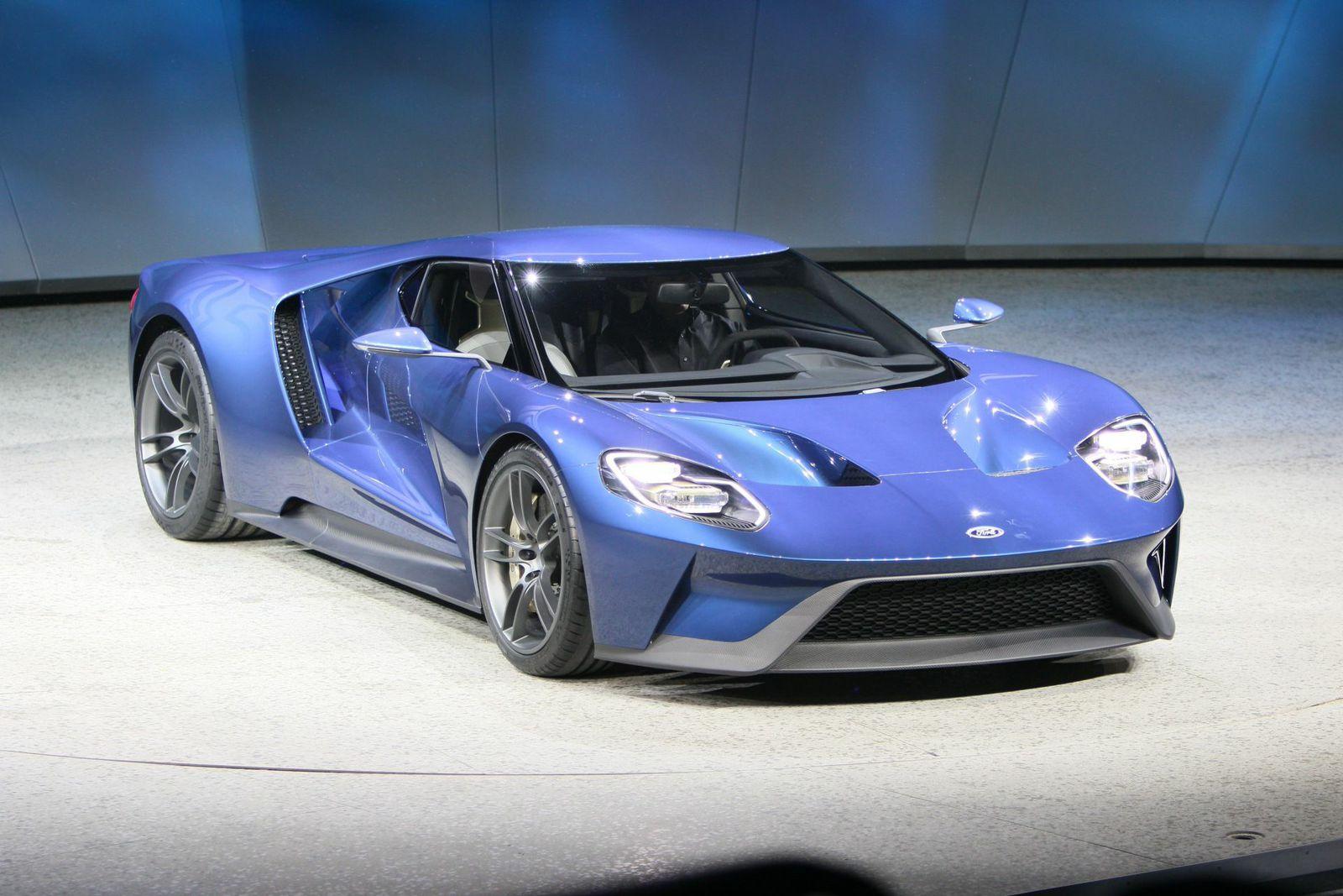 Supercar Ford GT au 24 heures du Mans