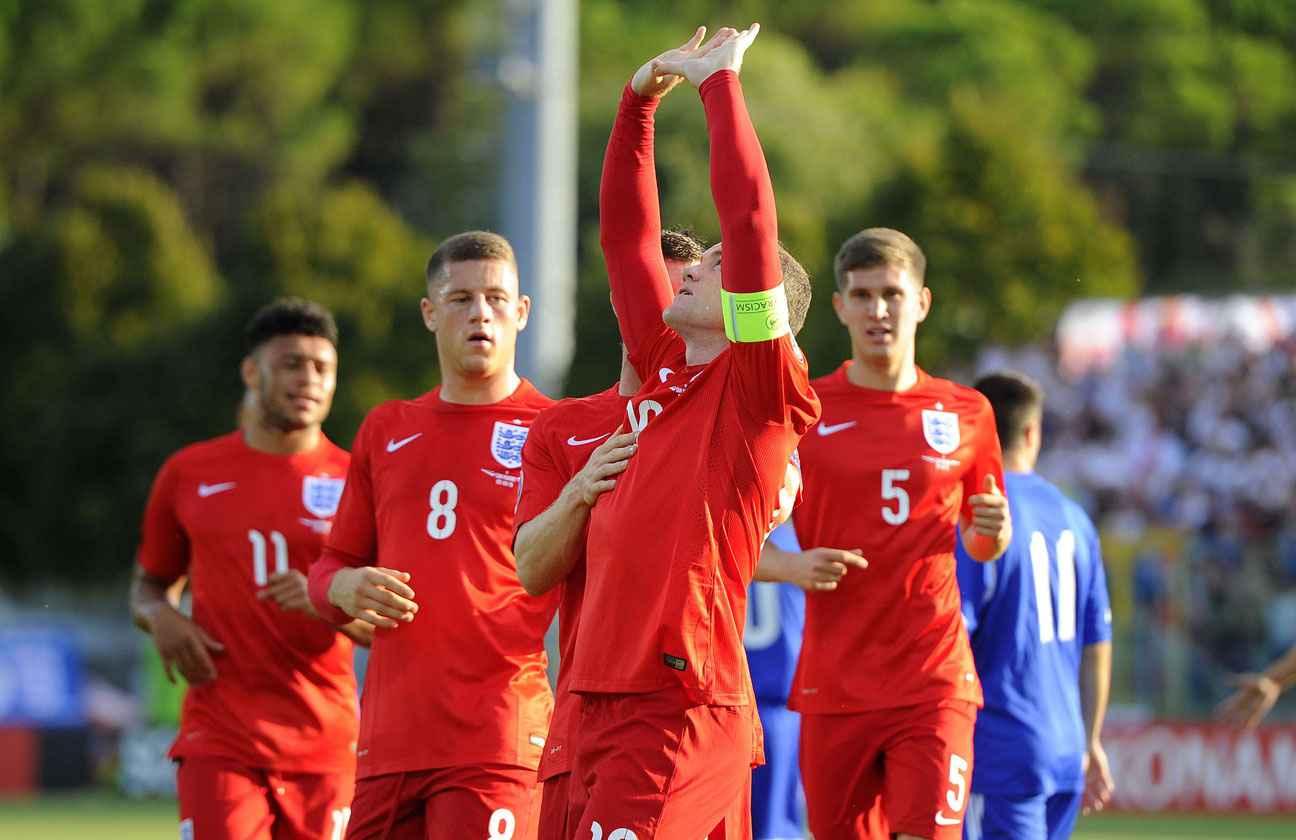 Wayne Rooney après son but pour l'Angleterre