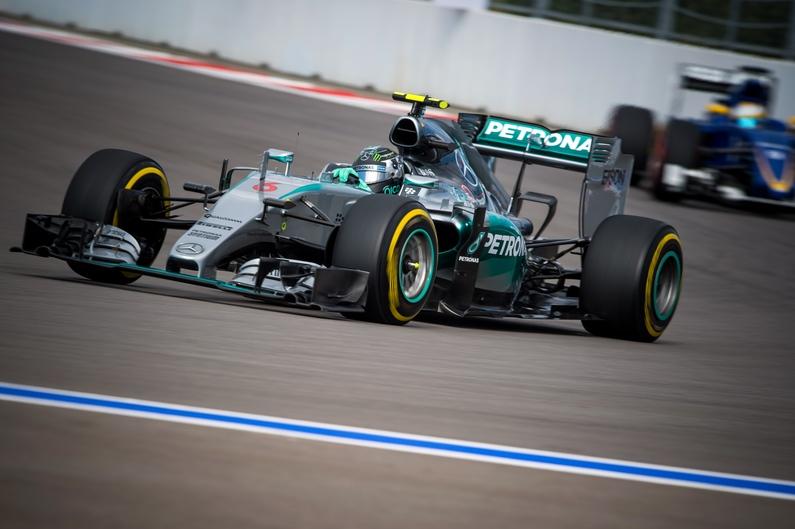 GP F1 de Russie - Nico Rosberg en pole-position
