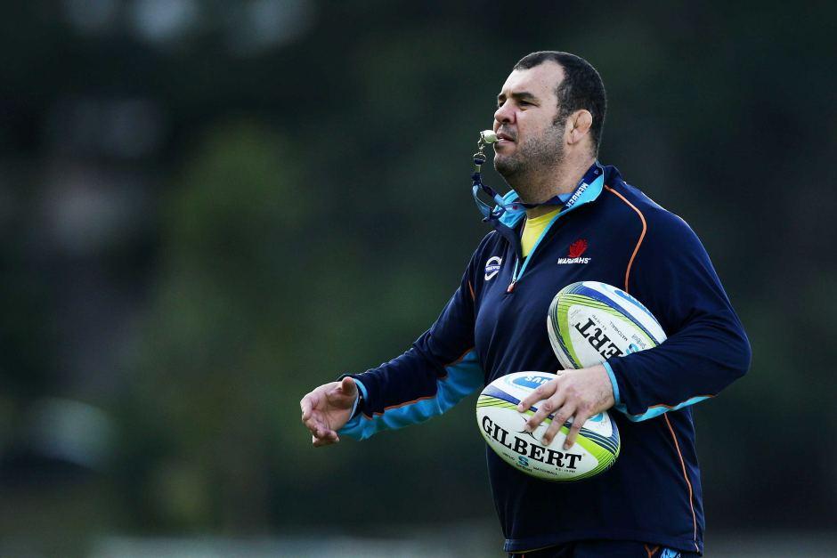 Rugby - Michael Cheika (Sélectionneur de l'Australie)