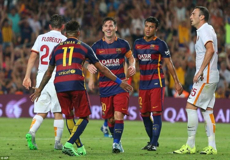 FC Barcelone vs AS Roma en direct sur beIN Sports 3 à partir de 20h45