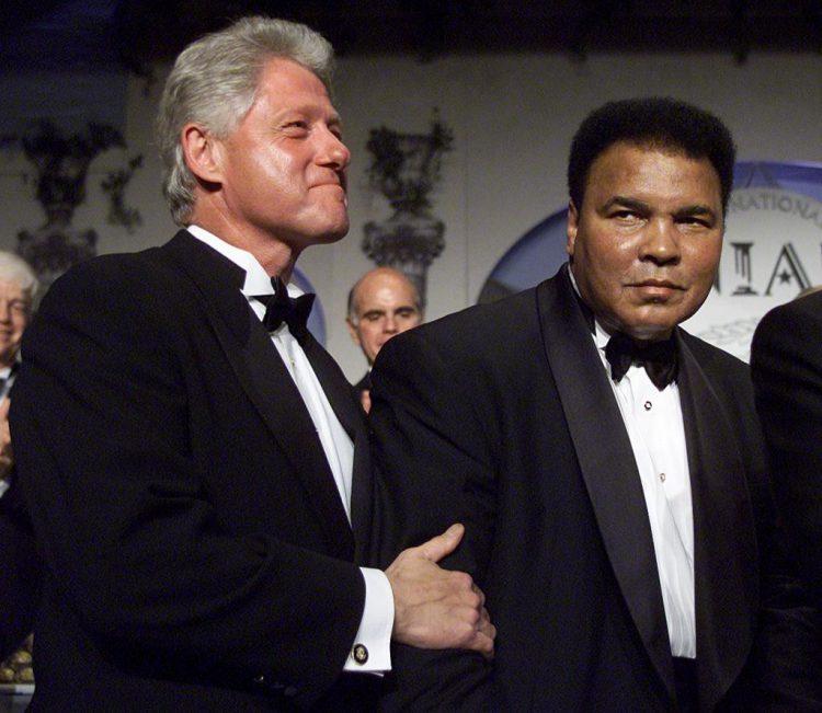 Bill Clinton & Mohamed Ali, le Champ.