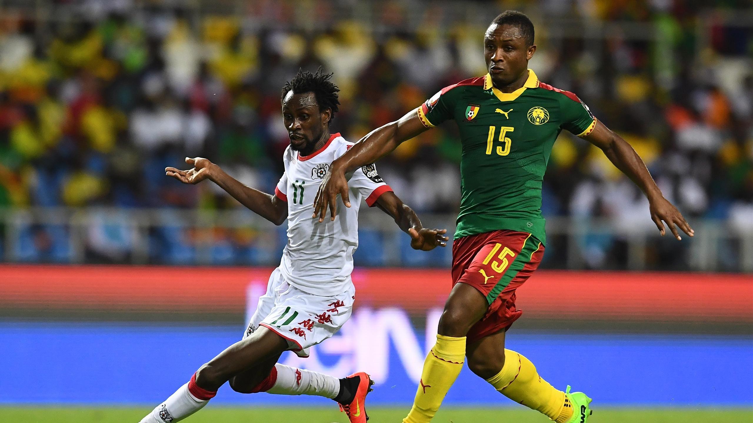 Burkina-Faso vs Cameroun